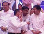 Congress general Secretary Mukul Vasnik in workers meeting held at vishnoi Dharmshala Bikaner