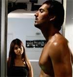 Johan Abrahim & Ayesha Takia in Movie No Smoking