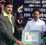 Sramjivi Patrkar Parishad awreded to Iqbal Qureshi, Bhanwar Lal Soni, Karmchand Arora