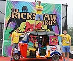 5000 km journey on Rickshaw from Shilong to Kochi