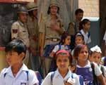 Bharat Bandh - School Campus