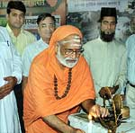 Religious Gurus Lights the Lamp of All Religious Conference  Bikaner Foundation Day Celebration
