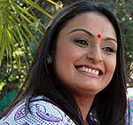 Tina Parekh Lead actress of TV Serial Peehar