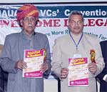 RJUVAS Headlines launches during 37th VC Convection held at Jaipur