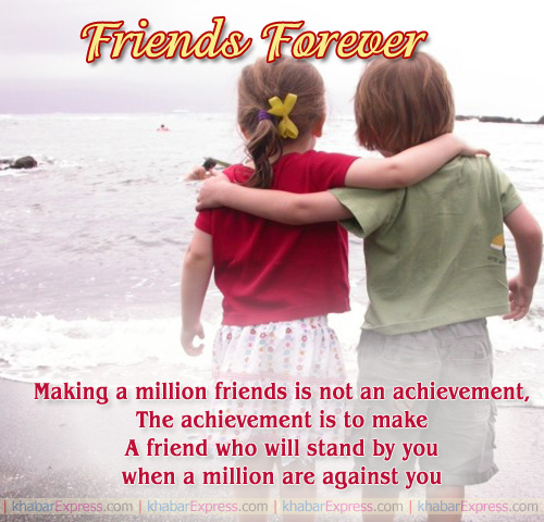 A friend who will stand by you