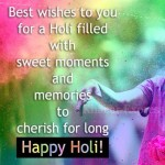 Best wishes to you  for a Holi