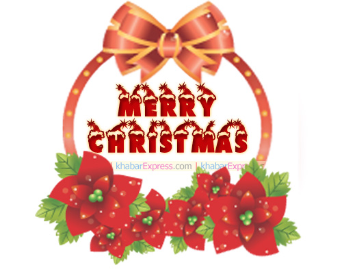 Bells are ringing the wishes of christmas day,