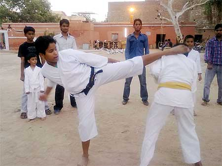 Training Camp held by Bikaner Karate Association