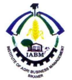 IABM Bikaner Institute become top agriculture management institute in India