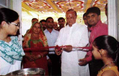 Dr B D Kalla Inaugurates Free Medical Advice Camp at Nobel Clinic & Physiotherapy Centre