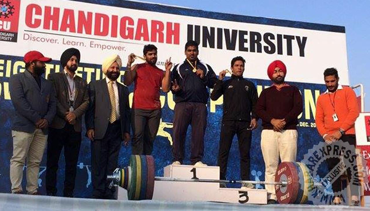 आशीष ओझा ने जीता स्वर्ण पदक
