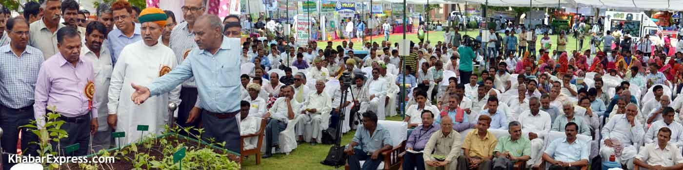 एसकेआरएयू के कृषक मेले मे 3500 किसानों की भागीदारी