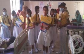 बच्चों ने डेंगू के खिलाफ छेडा अभियान