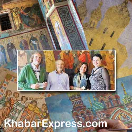 Russian paintings exhibition in Bikaner