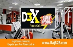 Next level  fitness club D3X  to be inaugrated on 12 oct