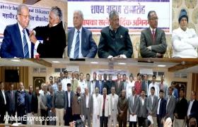 Socialist JCL Daga sworn in as President of Mahavir International Bikaner