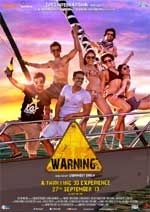 poster for  upcoming film� Warning�.