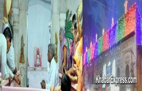 दाऊजी मंदिर मे तीन दिवसीय पाटोत्सव आज से