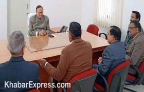कल्ला ने संभाला पदभार, सम्बंधित विभाग अधिकारियों से की मुलाकात